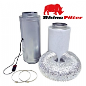 Air Force 2 Isomax Acoustic Silencer Fan & Rhino Pro Carbon Filter Kits